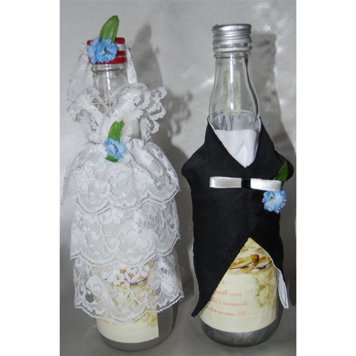 b0d43bc86a Ubranka na butelkę wódki - Koronka jesień-2088